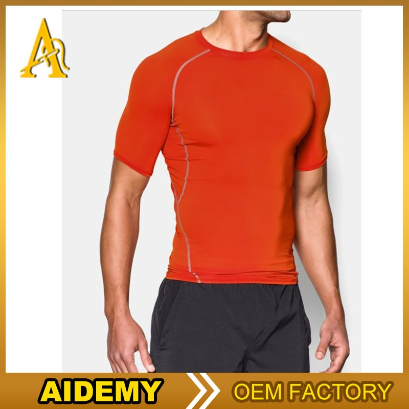 Dri fit shirts wholesale custom dry fit slub fitness shirt for Custom dry fit shirts
