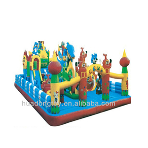 Outdoor inflatable equipment,outdoor inflatable playground bouncing castles for children