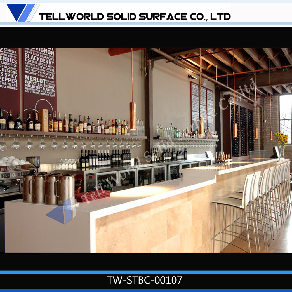 Tell World China Top Manufacturer Coffee Modern Bar Counter Design