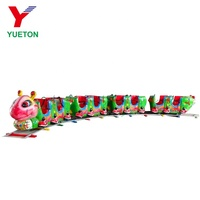 High Quality Cheap Kids Carnival Rides Mini Electric Ant Track Train For Sale