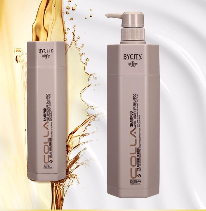Professional salon use best hair shampoo BYCITY collagem hair shampoo