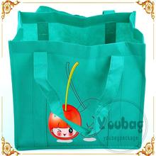 eco-friendly bopp laminated pp grommet non woven sling bag