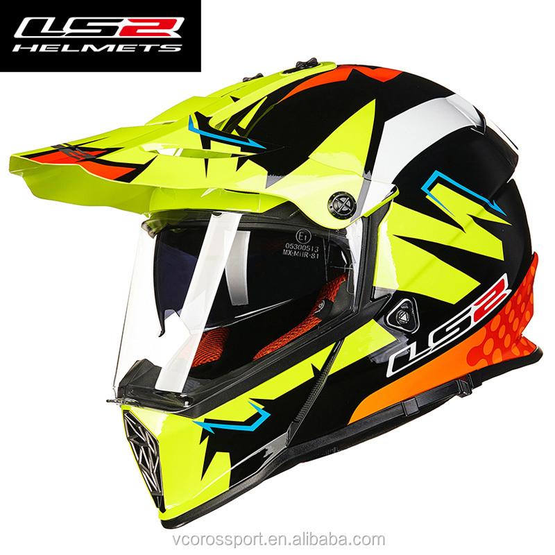 LS2 MX436 PIONEER Casco de motocicleta de doble deporte