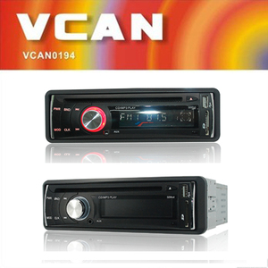 VCAN0877 MP3/CD/CD-RW compatible car cd player with am fm receiver (AM Optional) colour LCD Digital Display