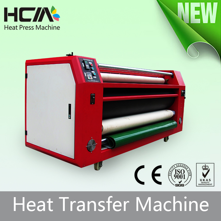 Digital sublimation polyester roller sublimation heat press machine