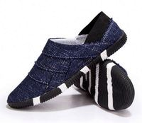 Wholesale cheap in china csual party loafer jean canvas men dress shoes