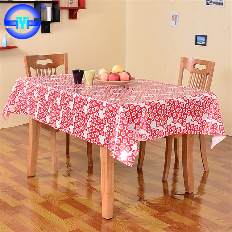 Hot sale thermo double water repellent tablecloth for small rectangular table