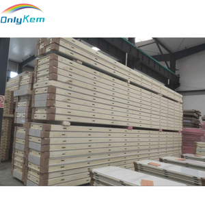 Wholesale price PU sandwich panels for cold room, walk in cooler panels price