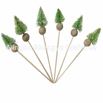 Christmas sticks cake topper Cupcake Picks Christmas Mini paper Cake Toppers for kids
