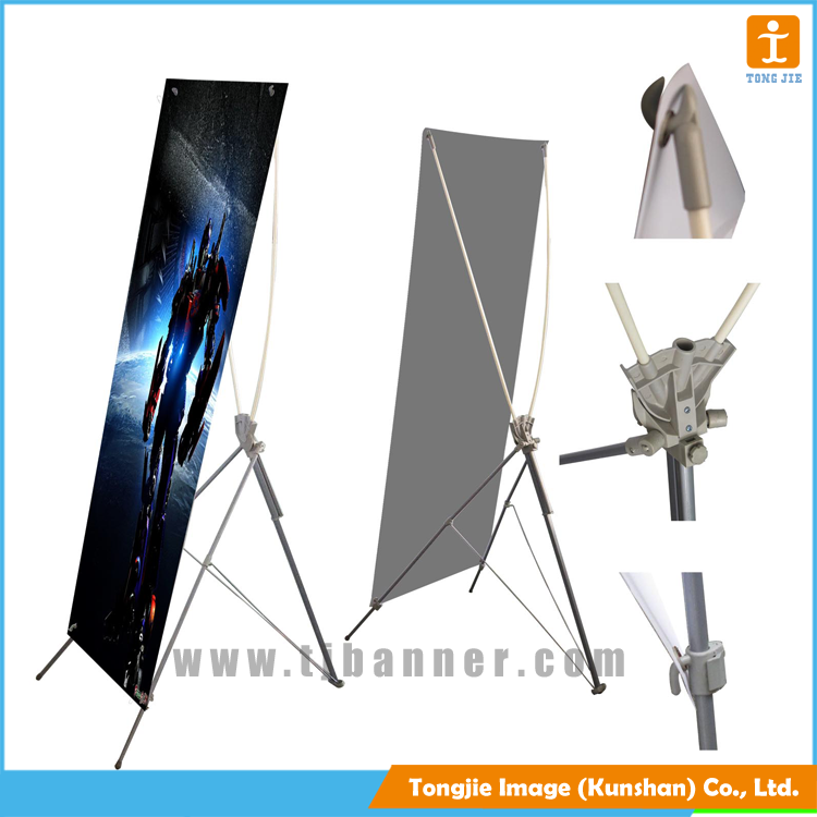 2017 New food grade portable x banner poster with Long Service Life