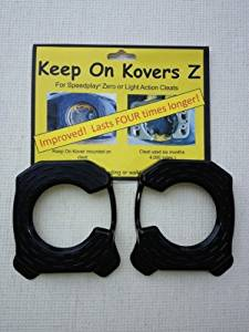 Keep on Kovers Z cleat cover for Speedplay zero or Light Action Cleats (Cleats in the photo is sold seperately) Cycling, Bike, Bicycle, Cycle, Bicycling