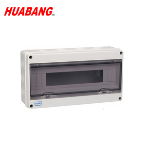 18 pole High Quality IP54 Electronic Enclosure waterproof box Plastic junction box water proof enclosure