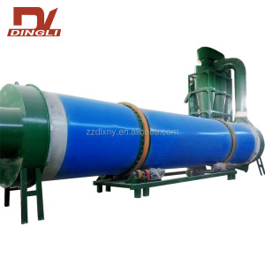 3 Pass Hot Air Rotary Sugarcane Bagasse Dryer Sale in India