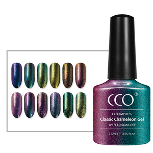 CCO Manufacturer Popular Easy Soak Off Beauty Lucky Korean Uv Gel Nail Polish