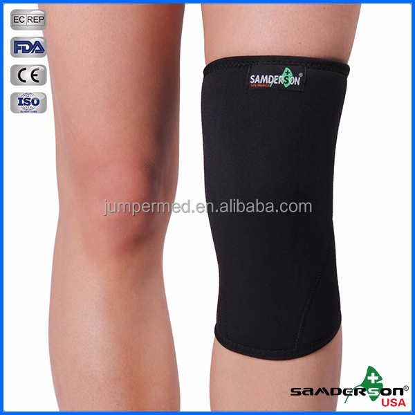Knee Compression Sleeves - Crossfit Knee Brace, Knee Support and Pain Relief in Weight Lifting, Knee Sleeve