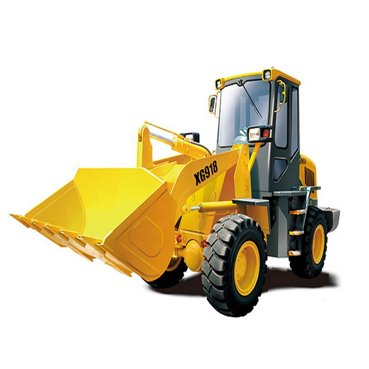 Mini front end loader XGMA 1.8 toneladas Carregadeira de rodas XG918 nas Filipinas