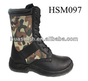 XM,leather+camo.canvas upper woodland military tactical gear for special ops hunting boots