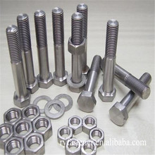 China Factory DIN933/911 Stainless Steel Nut and Bolt Stainless Hex Bolt