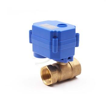 China Make Modulating Control 2 Inch Water Solenoid Valve - Buy 2 Inch  Water Solenoid Valve,Dc24v Dc12vc Wx15 Brass Motorized Ball Valve,Ball  Valve