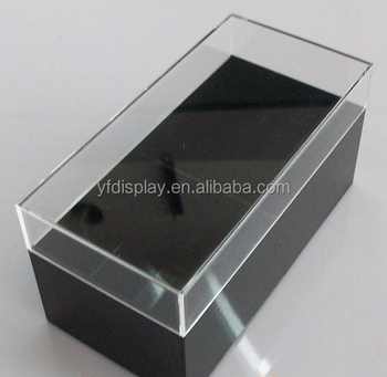 hot sale small plastic acrylic packing organizer box