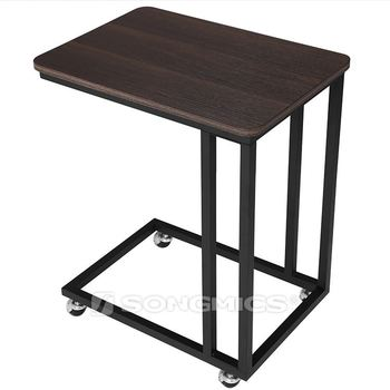 Vasagle Design Clic Narrow Slim Small Metal Bedside End Side Table For Bed Product On