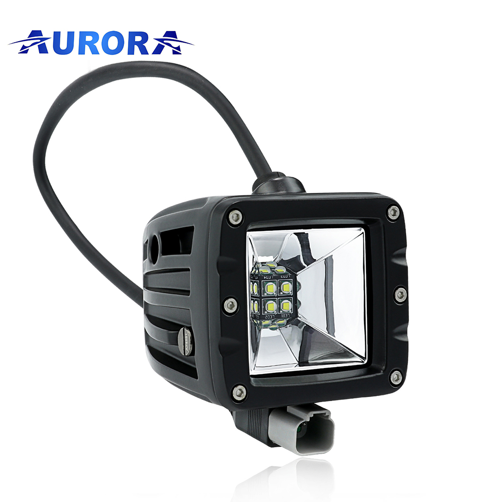 Aurora New Product Scene Cube Off Road Lights Led 4x4 Car Accessories On Alibaba