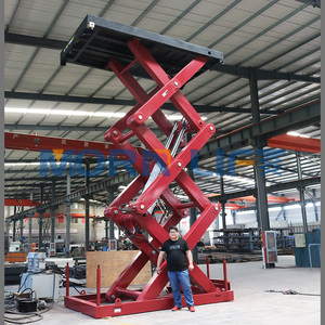 3.5m stationary cargo hydraulic scissor lift