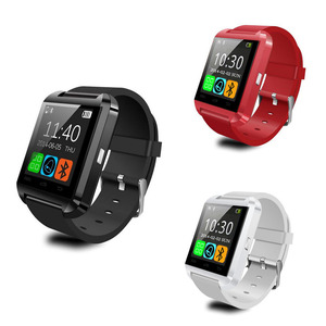 2016 hot sale camera Bluetooth u8 Smart Watch