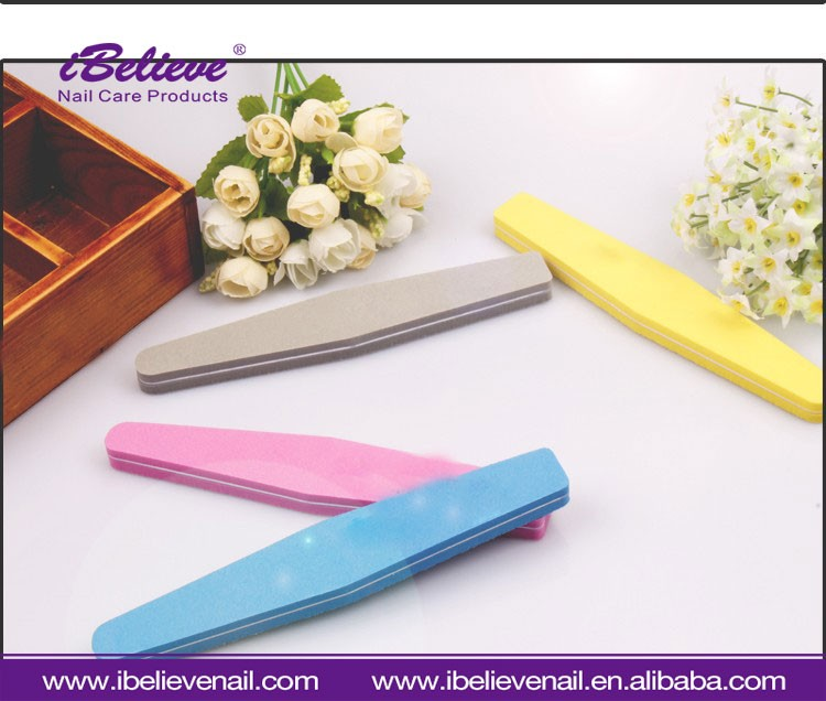100 / 180 Grit Sanding Sword-shaped Acrylic Gel Manicure Tool Nail File