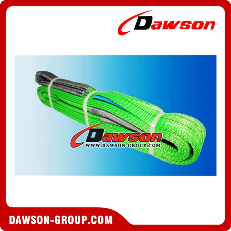 60mm 2 T polyester flat boat webbing lifting sling