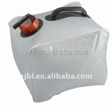 20L PVC water container with handle and valve 5-GALLON