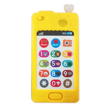 Custom ABS plastic children smart mobile phone educational toys