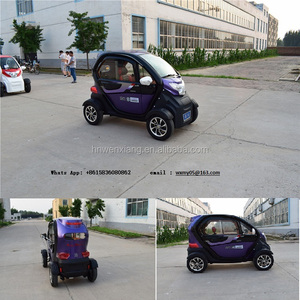 2 seat / 3 seat new energy electric car with cheap mini 4 wheels electric car made in China without EEC certification