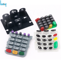 High quality silicon keypad rubber button