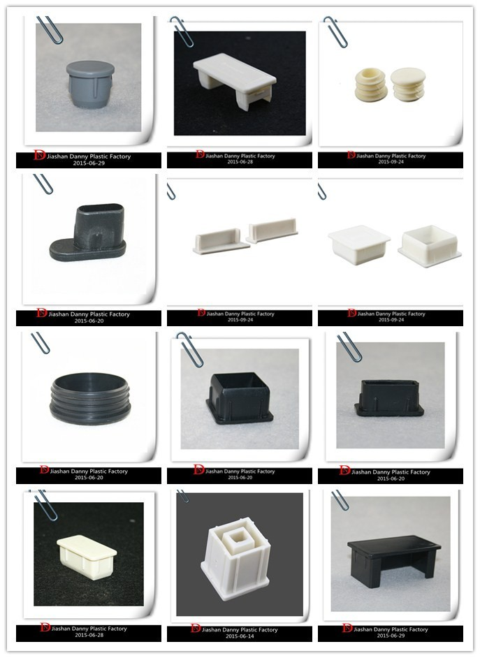 Rectangle plastic end caps for pvc pipe fitting(DN-02064)