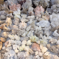 Wholesale natural white crystal quartz cluster for decoration