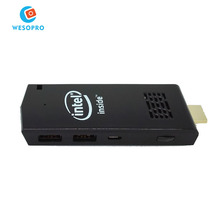 Win10 windows10 w5 bt-w5 4k2k 1080 p Intel z3735f android 4,4 wintel tv dongle tv box