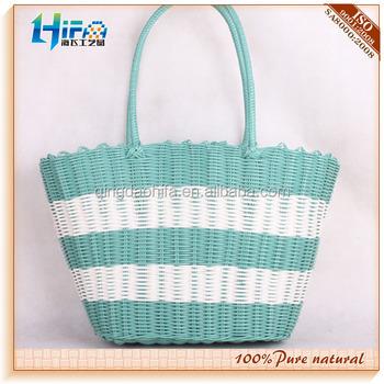 Hifa Plastic Straw Bag Pp Woven Beach Bag - Buy Pp Woven Bags 50kg ...