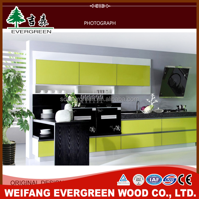 Luxury Island Natural kitchen Cabinet Wood