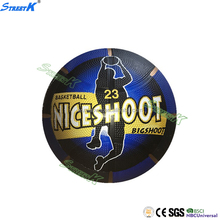 Official size 7 & weight rubber basketball balls training rubber basketball