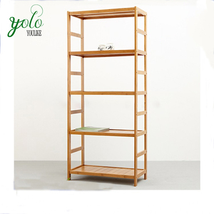 Bamboo Multifunctional Storage Rack Customized Wooden Shelf for Kitchen,Living Room,Bedroom