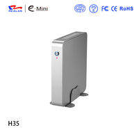 Realan Newest H35-I3H40T1 Intel i3 CPU mini desktop computer barebone