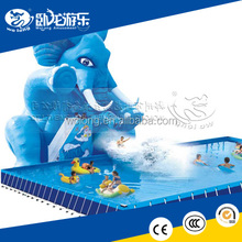 Hot sell fiberglass swimming pool slide used commercial equipment