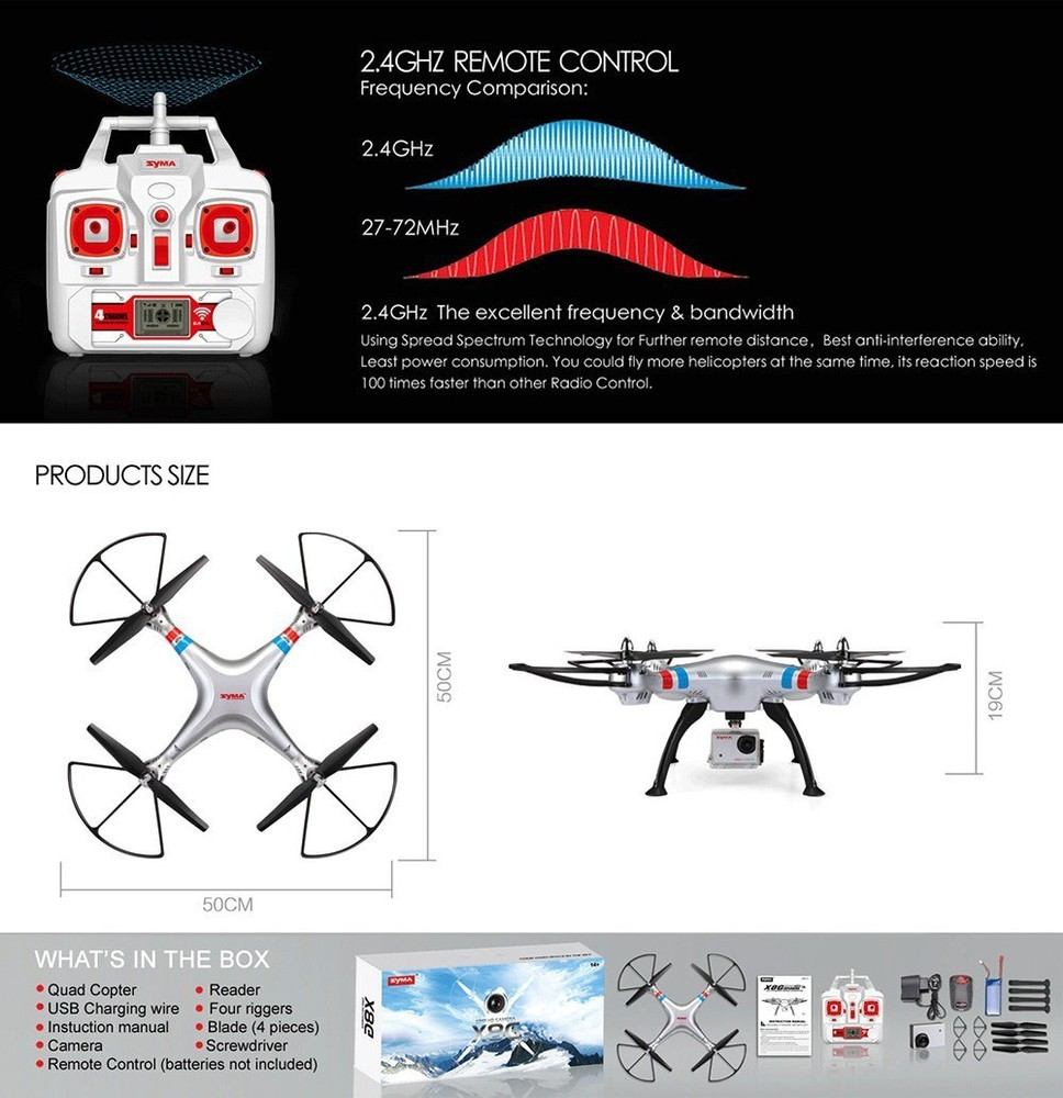 2016 New Products Rc Quadcopter Syma X8 X8c Update Remote Control. 2016 New Products Rc Quadcopter Syma X8 X8c Update Remote Control Drone X8g With 8mp. Wiring. Syma X8 Wiring Diagram At Scoala.co