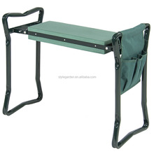 multifunctional garden kneeler seat with tool bag