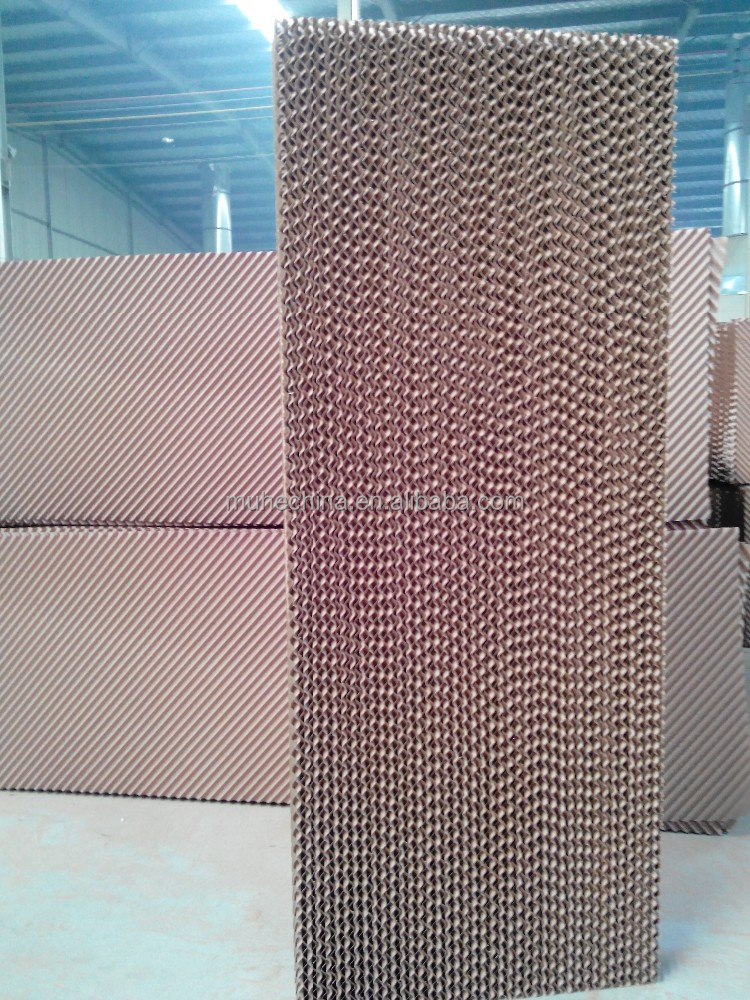 Evaporative cooling pad for air cooler