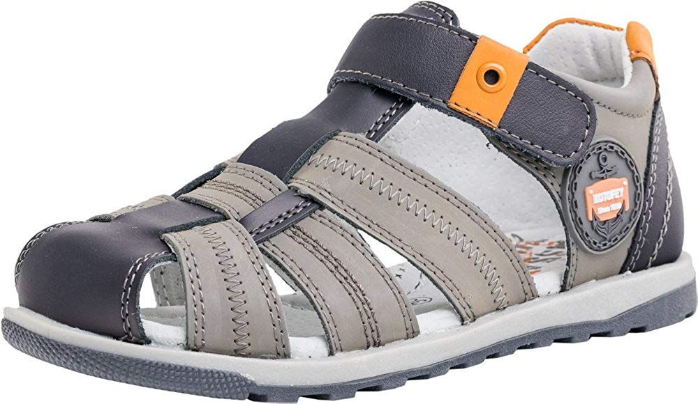 22df1ae895f5 Get Quotations · Kotofey Boys Sandals 522090-21 Genuine Leather Orthopedic  Shoes with Arch Support