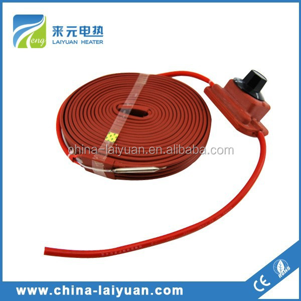 China 200 liter silicone drum heater maufacturer battery heat pad