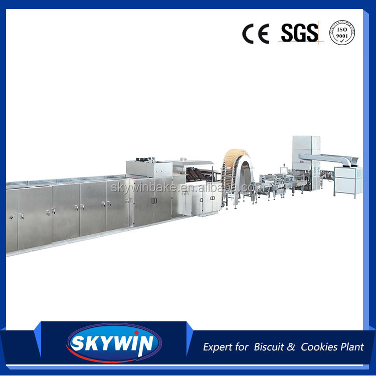 2016-2017 Skywin brand New Style European Designed Wafer Biscuit Machine