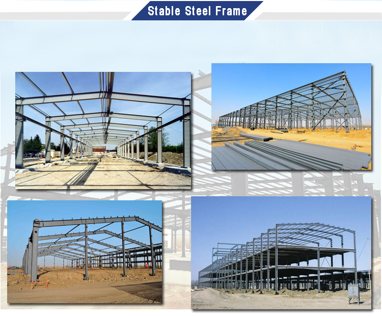 Prefabricated Storage Steel Shed Construction Building Plan Design Warehouse Structure